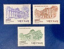 Vietnam 2019 Architecture Hanoi  Buildings Set Of 3 VN #1116 Mint MNH
