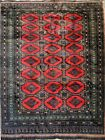 AFGHAN CARPET. WOOL AND SILK OR VISCOSE. WOVEN HAND.  AFGHANISTAN. CIRCA 1950