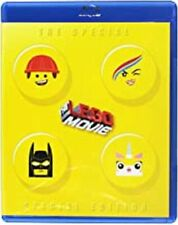 The Lego Movie Special Edition Blu-ray + DVD 3 disc set in original case