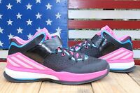 Adidas RG3 Energy Boost Training Shoes Robert Griffin Black/Pink [C75878] Men 12