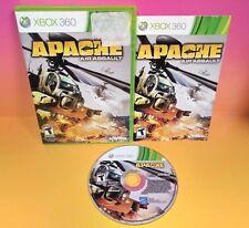 Apache Air Assault (Microsoft Xbox 360, 2010) CIB komplett selten