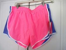 90 DEGREE by Reflex~Pink Purple ATHLETIC SHORTS~Inner Panty~Women's Large~NWT
