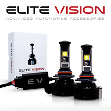 Elite Vision 9005 Led Headlight Bulbs Conversion Kit Cree Clear 3600LM 6000K 30W