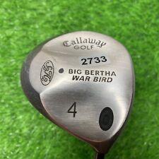 New listing Callaway Big Bertha 4 Wood Graphite Shaft Firm Flex RH .    2733