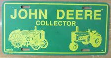 1994 JOHN DEERE COLLECTOR BOOSTER License Plate