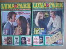 BUSTA anni 70 di 2 Fotoromanzi LUNA PARK 83 + LUNA PARK 84  [C94]
