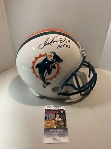 Dan Marino Autograph Signed Dolphins HOF 05 Full Size Replica Helmet JSA