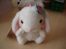Japan Amuse Poteusa Loppy small Bunny Rabbit Soft Toy Plush