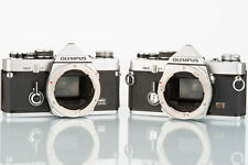 Two Olympus OM2 for parts/repir classic 35mm SLR film camera AS IS