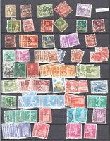 SWITZERLAND 2 PACKED STOCK PAGES COLLECTION LOT NUMERALS TO 1950s