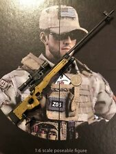 FLAGSET US Navy Seals Sniper fs-73004 a.i.a.w.m Sniper Rifle loose 1/6th scale