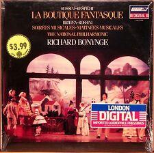 SEALED LONDON DIGITAL Rossini-Respighi BONYNGE La Boutique Fantasque LDR-71039