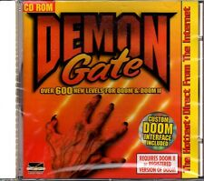 Demon Gate for DOOM I & II (600+ Levels) (PC-CD, 1995) - NEW CD in SLEEVE