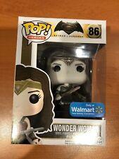 Batman v Superman Wonder Woman Sepia Pop Vinyl (Walmart Excl) with pop protector