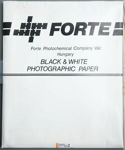 Forte Vac Fortezo Museum Weight FSP 14 Baryt Fotopapier 10 Blatt 50 x 60 Glossy