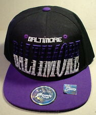 Baltimore Collector's Edition Cap Seventy 7even Hat Headwear NWOT Purple Friday