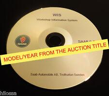 Saab 9-5 WIS 1998 1999 2000 2001 2002 Service Manual