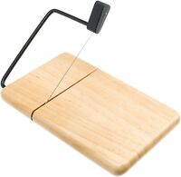 Prodyne 805b Thick Beechwood Cheese Slicer With Built In