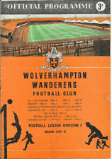 Written-on First Division Teams S-Z Football Programmes