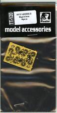Hauler Models 1/120 BICYCLES (4) Photo Etch Set