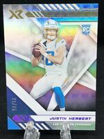 2020 Panini XR Justin Herbert SP 29/75 True Rookie Card RC LA Chargers