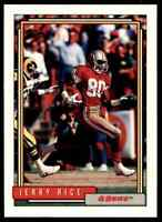 1992 Topps Jerry Rice 49ers #665 *Noles2148*