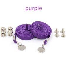 2 Perfect One Hand No Tie Laziness Convenient Shoelace Laces Elastic Shoes Decor