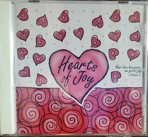 ❤❤ Hearts Of Joy, Tammy Trent, CCM, CD BINDER WITH PURCHASE, HOLDS 8