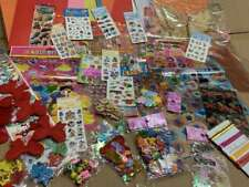 JOB Lots CardMaking Children Kid craft Sticker Card Embellishment 300ps Play set