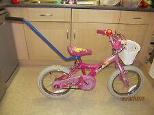 Bike Bicycle Kids Balance Buddy Training Safety Handle/Pole Stabiliser Blue