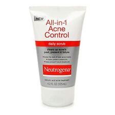 Neutrogena All-in-1 Acne Control Daily Scrub 4.20 oz (Pack of 2)
