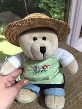 Starbucks Bearista 2006 Gardening Plush Stuffed Bear Collectible