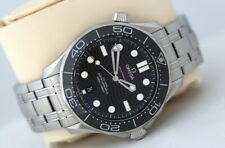Omega Seamaster 42mm Co-Axial Automatic Watch - Black Ceramic Bezel (2019)