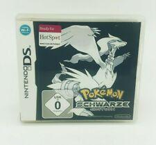 Pokémon Schwarze Edition Nintendo DS, 3DS Sehr gut OVP mit Anleitung DE