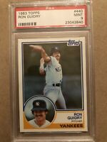 1983 Topps #440 - Ron Guidry - PSA 9 MINT - New York Yankees