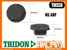 TRIDON TOC535 - OIL CAP - PLASTIC SCREW - COVER ORIFICE ENGINE OIL SUPPLY