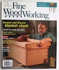 Tauntons Fine Woodworking Magazine lot 8 issues 2002 - 2015 carpentry tools wood