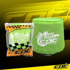 Water Guard Cold Air Intake Pre-Filter Cone Filter Cover for Mustang Small Green