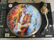 "Eric Clapton - Change The World Rare 12"" Picture Disc Promo LP (The Best Of CD)"