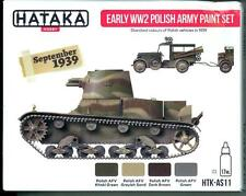 Hataka Hobby Paints EARLY WORLD WAR II POLISH ARMY COLORS Acrylic Paint Set