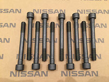 S13 200SX 89- CA18DET Genuine Nissan Head Bolt Set 11056D4200