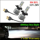 H4 72W 8000LM CSP V1 LED HEADLIGHT KIT HIGH LOW BEAM BULBS REPLACE HALOGEN XENON
