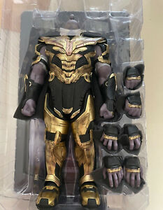 Hottoys HT MMS529 1/6 Scale Thanos 3.0 Body Action Figure Battle Outfits Hands
