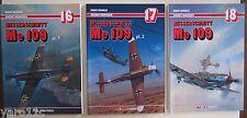 *Messerschmitt Me 109 - Set of three parts  AJ Press- English Edition!!!