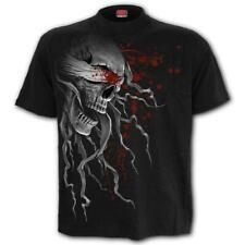 Spiral BLIND FAITH Front Print Unisex BlackT-Shirt/Goth/Rock/Skull/Top/Tee/Blood