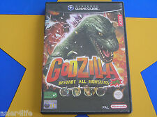 GODZILLA DESTROY ALL MONSTERS MELEE - GAMECUBE - Wii Compat.
