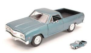 Chevrolet El Camino 1965 Lumière Métallique Bleu 1:25 Model 31977 Maisto