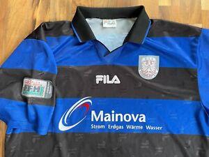 FSV Frankfurt #3 Trikot 2004/05 Matchworn Spielertrikot FFH Oberliga Hessen SGE