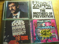 Frank tsappa [4 cd albums] Jazz From Hell + humour + prevention + Cheap