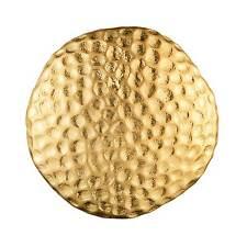DYRBERG/KERN - TROLL MATT GOLD BUTTON RING